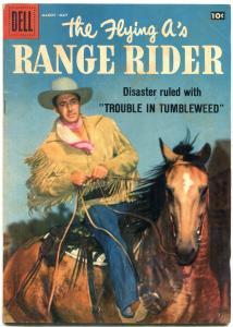 The Flying A's Range Rider #21 1958- Dell Western- Jock Mahoney VG/F