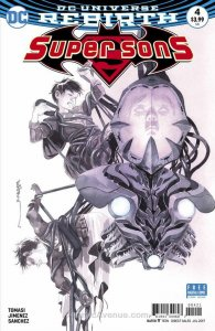 Super Sons #4A VF/NM; DC | save on shipping - details inside