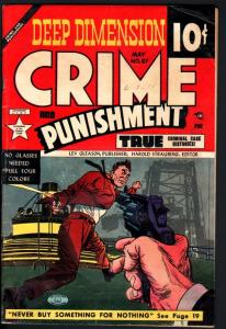 CRIME AND PUNISHMENT #67-HEROIN STORY-WILD ISSUE-DRUG USE-VIOLENCE