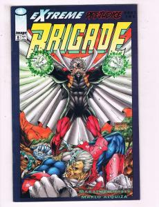 Brigade #8 VF Image Comics Comic Book Mychaels DE17