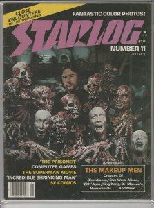 STARLOG MAGAZINE #11 VG A04970