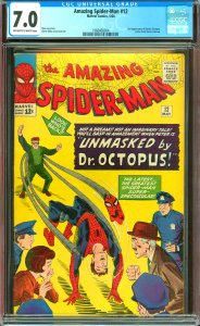 Amazing Spider-Man #12 CGC Graded 7.0 3rd Doctor Octopus