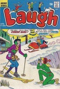 Laugh Comics #229, Fine (Stock photo)
