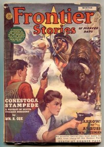 Frontier Stories Pulp Winter 1952- Death At Donner Pass
