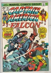 Captain America #181 (Jan-75) NM- High-Grade Captain America