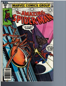 The Amazing Spider-Man #213 (1981)