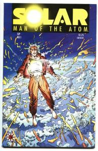 SOLAR MAN OF THE ATOM #1 First issue-1991-VALIANT VF/NM