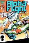 Alpha Flight (1983 series) Annual #1, VF- (Stock photo)