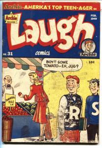 Laugh Comics #31 1949- Archie- Jughead-Golden-Age