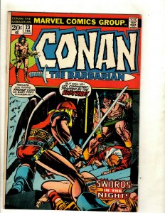 Conan The Barbarian # 23 FN/VF Marvel Comic Book Elric Red Sonja Kull King RS2