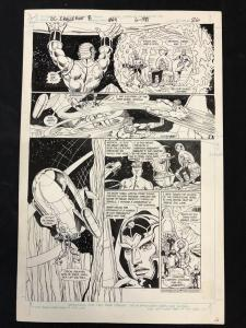 DC Challenge #8 Page 26 Original Comic Art NEW GODS Rick Hoberg