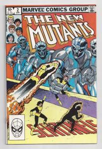 NEW MUTANTS #2, VF, CannonBall, Claremont, Marvel 1983, more in store