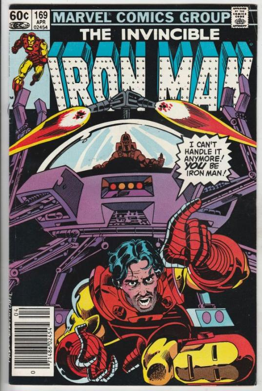 Iron Man #169 (Mar-84) VF+ High-Grade Iron Man