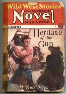 Wild West Stories & Complete Novel Pulp December 1932