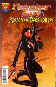 Danger Girl and the Army of Darkness #6A VF/NM; Dynamite | save on shipping - de