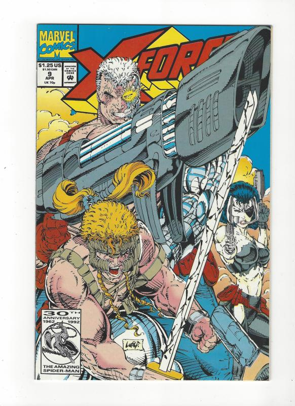 X-Force #9 Cable Shatterstar NM