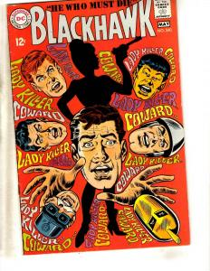 Blackhawk # 240 VF DC Silver Age Comic Book Raven's 1968 Army Navy JL14