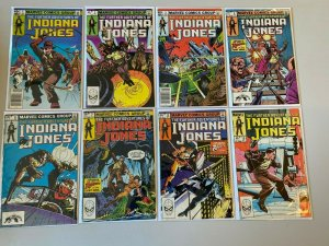Further Adventures of Indiana Jones lot 14 different from #1-23 6.0 FN (1983-84)