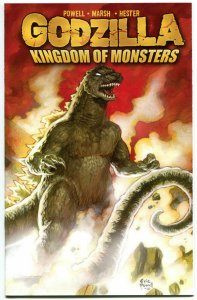 GODZILLA Kingdom of Monsters #1 B, NM, Eric Powell wrap, 2011, more in store