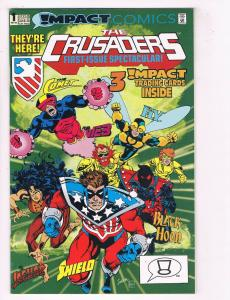 The Crusaders #1 VG/FN Impact Comics Comic Book May 1992 DE37 TW7