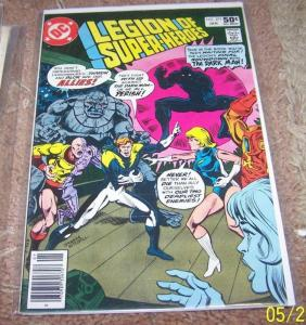 LEGION OF SUPER HEROES COMIC # 271 1981  dc  BRONZE  AGE  the dark man tharok