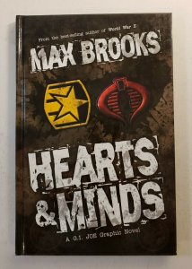 MAX BROOKS HEARTS & MINDS G.I. JOE HARD COVER GRAPHIC NOVEL