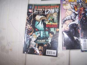The Authority: More Kev #1,3 4 ( wildstorm  DC)+ lobo+prime+scortched earth+more