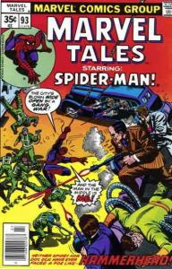 Marvel Tales (2nd Series) #93 FN; Marvel | save on shipping - details inside
