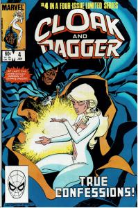 Cloak and Dagger #4, 9.4 or Better (2)