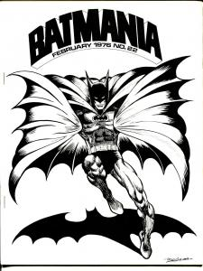 Batmania #22 1976-1st fanzine for a single character-next to last issue-VF