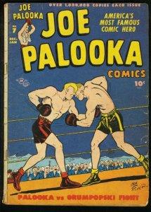 JOE PALOOKA #7 '46-HARVEY COMICS-BOXING 1ST FLYIN' FOOL G/VG