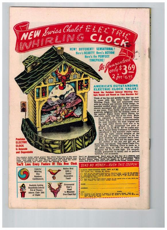 Dagar Desert Hawk #19 NM- 1948 Fox Features GOLDEN AGE Comic Book Jungle HOT JJ1
