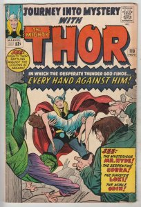 Journey into Mystery #110 (Nov-64) FR/GD Afordable-Grade Thor