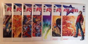 Americas Got Powers 1-7 Complete Near Mint Lot Set Run