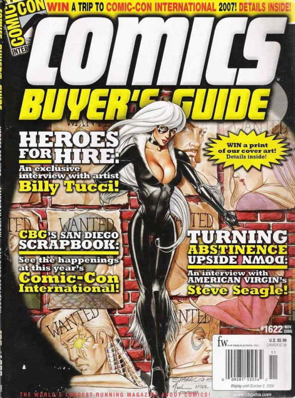 Comics Buyer's Guide #1622 VF/NM; F&W | save on shipping - details inside