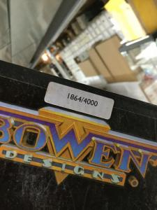 Phoenix Statue By Bowen Designs Base Box Only Figure Missing Numbers Match
