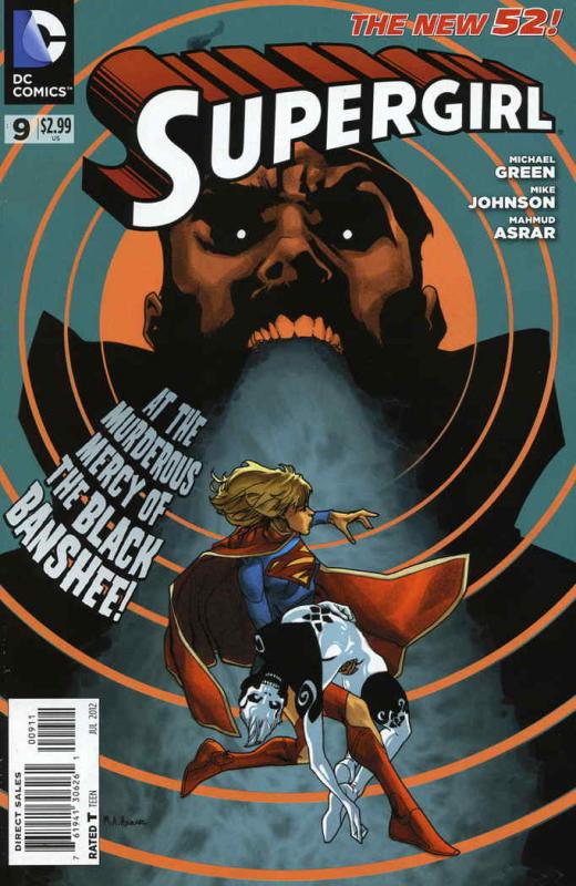 Supergirl (5th Series) #9 VF/NM; DC | save on shipping - details inside