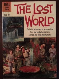 DELL MOVIE CLASSIC THE LOST WORLD MOVIE COVER! VF-