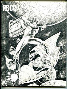 Rockets Blast & Comic Collector #140 1977-Mike Zeck-Capt Atom-Don Rosa-FN/VF