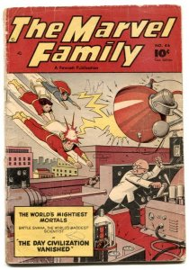 Marvel Family #46 1950- Canadian edition G