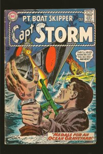 DC Comics Capt. Storm #6 April (1965) Good with Issues See Note