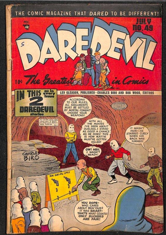Daredevil Comics #49 VG- 3.5
