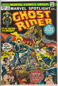 Marvel Spotlight on Ghost Rider #9 (Apr-73) VF+ High-Grade Ghost Rider