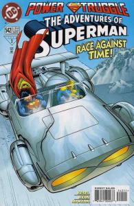 Adventures of Superman #542 VF/NM; DC | save on shipping - details inside
