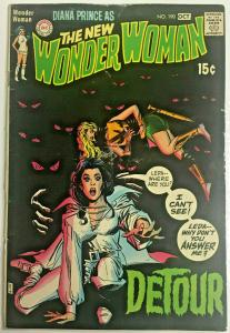 WONDER WOMAN#190 GD/VG 1970 DC BRONZE AGE COMICS