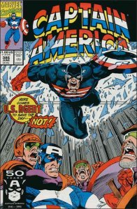 Marvel CAPTAIN AMERICA (1968 Series) #386 VF/NM