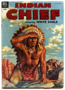 Indian Chief  #15 1954-Dell-Indian stories-White Eagle-G/VG