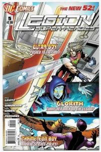New 52 Legion of Super-Heroes #5 (DC, 2012) VF