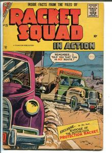 RACKET SQUAD IN ACTION #25-1957-CHARLTON-FRAUD-SEANCE-REAL ESTATE FRAUD-vg