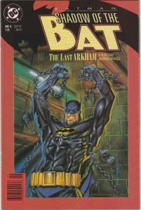 6 Batman: Shadow of the Bat DC Comic Books # 4 20 24 32 34 35 Azrael AH7